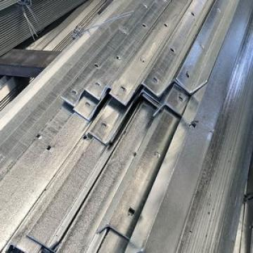 Steel Galvanized Unequal Iron with Hole Punched Gi Angle Bar