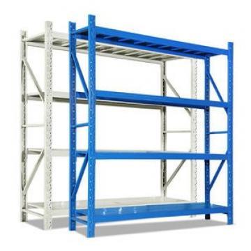 Black 4 Shelf Heavy Duty Adjustable Steel Warehouse Garage Storage Ceiling Rack System