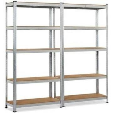 Intermetro 4 Tiers Ventilated Store Room Rack Heavy Duty Steel Garage Storage Shelving Unit