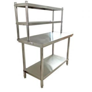Adjustable 5 Tiers Rolling Stainless Steel Kitchen Rack Shelf