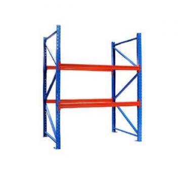 Rolling 4 Tiers Heavy Duty Industrial Slanted Steel Wire Shelf Truck Storage System